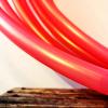 roze polypro hoepel Shakti Coral Pink kopen bij De Hoepeljuf - hoopdance en hoelahoeps