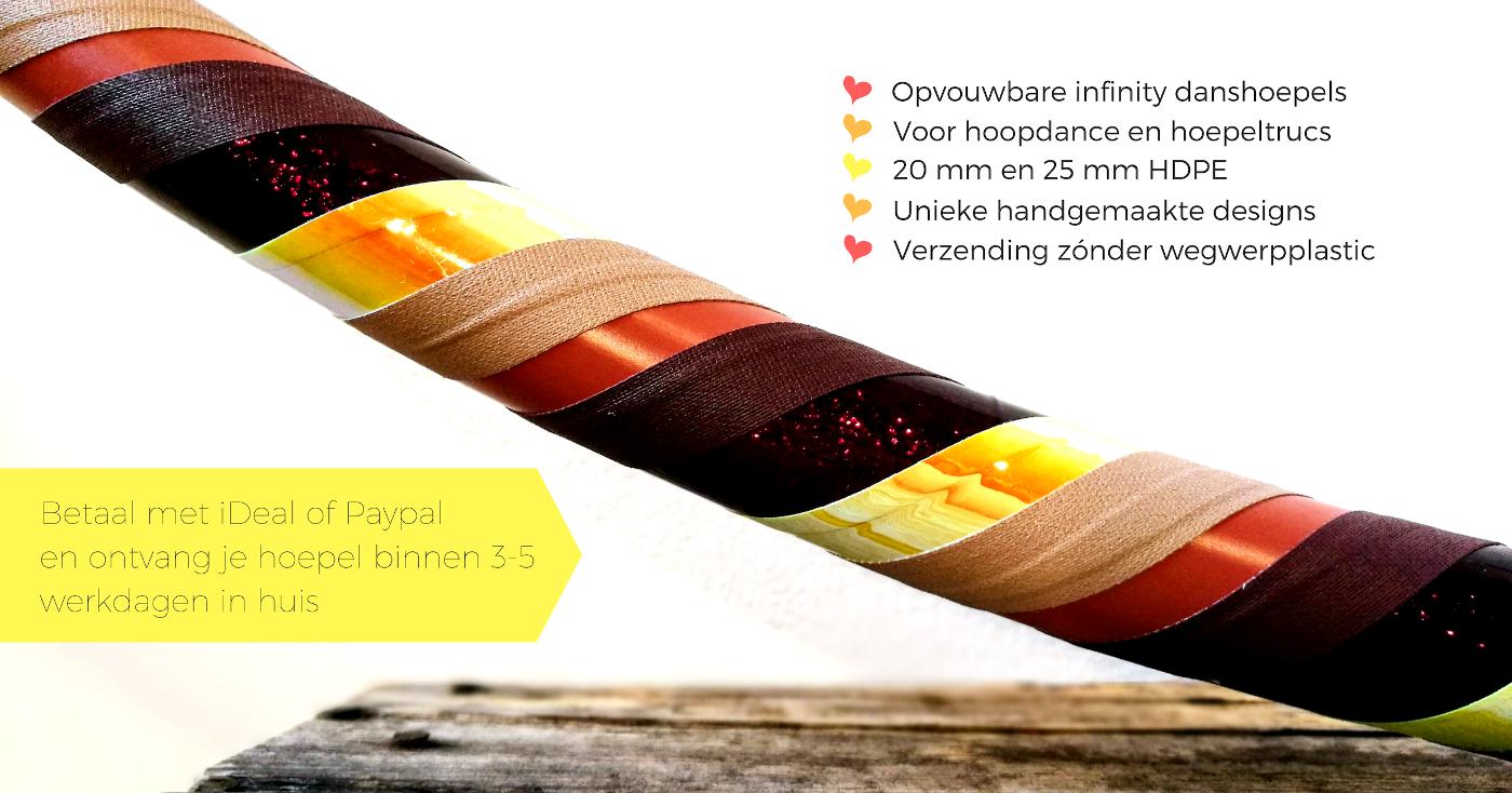 De Hoepeljuf - hoopdance en hoelahoeps Nijmegen   Handgemaakte, opvouwbare hoepels voor beginner, intermediate en gevorderd. Ook polypro.