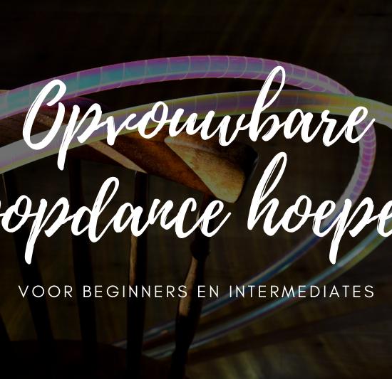 Opvouwbare hoopdance hoepels voor beginners en intermediates