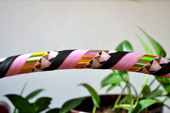 De Hoepeljuf Hoopdance & Hoelahoeps - beginner hoepel Pink Opal kopen