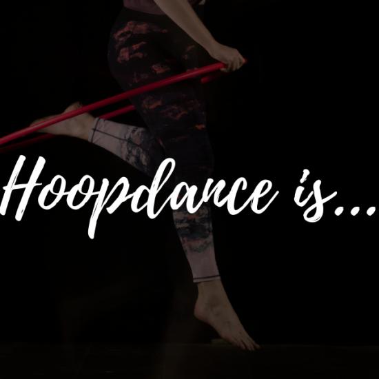 Hoopdance is meer dan leuke trucjes leren - De Hoepeljuf Hoopdance en Hoelahoeps