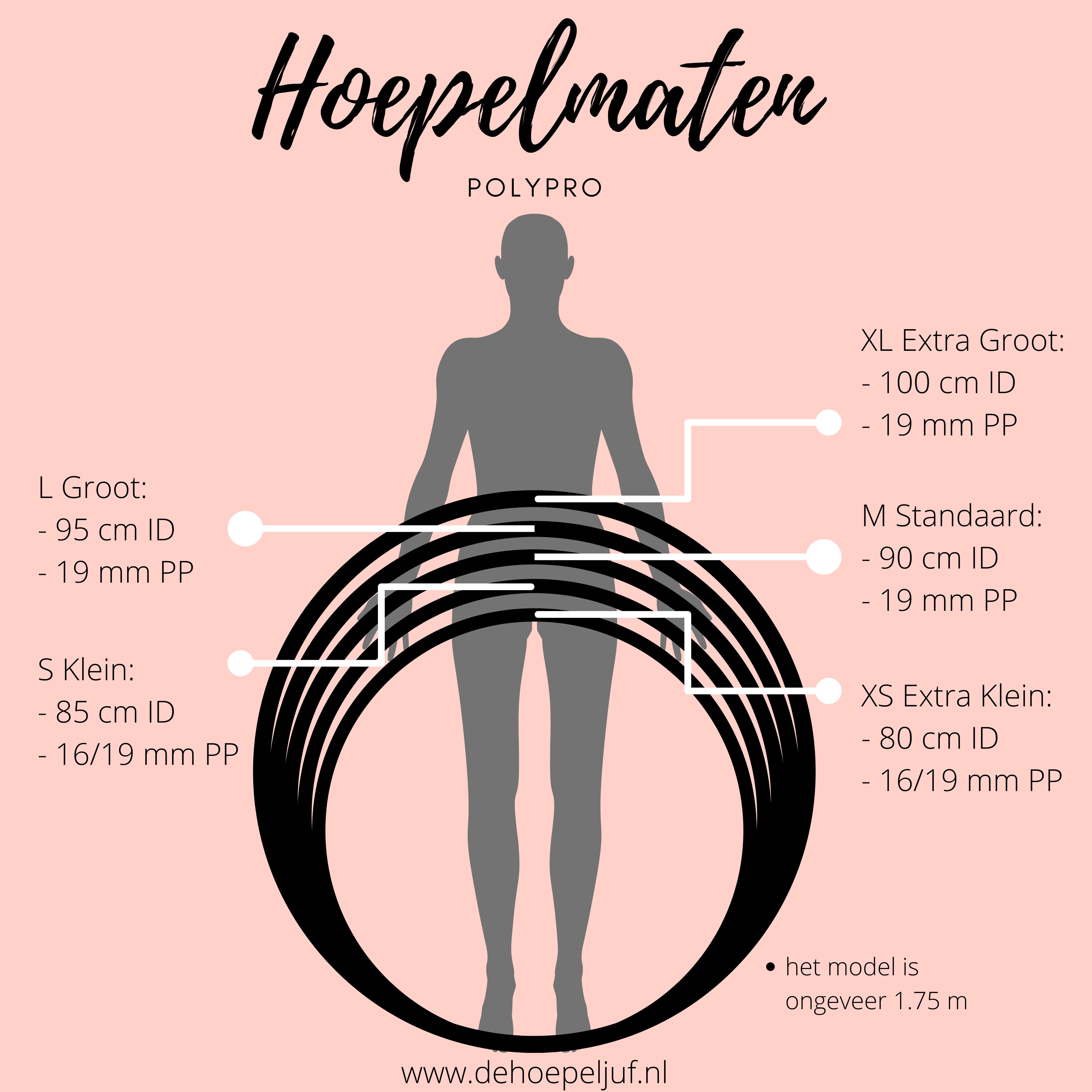 Welke maat polypro hoepel - De Hoepeljuf Hoopdance en Hoelahoeps