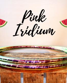 Polypro hoepel Pink Iridium kopen bij De Hoepeljuf Hoopdance en Hoelahoeps